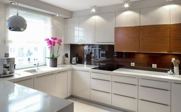 Как лучше расположить гарнитур на кухне